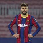 إصابة بيكي تزيد من مشاكل برشلونة الدفاعية