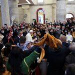 بث مباشر.. بابا الفاتيكان يصل إلى كنيسة «الحبل بلا دنس» في قراقوش
