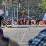 الأمم المتحدة: قوات أمن ميانمار تحاصر 200 متظاهر في رانغون