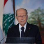 رئيس لبنان يطلب من الأجهزة الأمنية عدم السماح بإقفال الطرقات