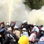 قتيلان في احتجاجات ميانمار برصاص الشرطة