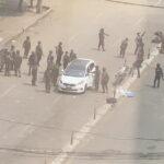 مقتل متظاهر برصاص الشرطة في ميانمار