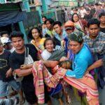 مقتل 9 في احتجاجات ميانمار وعقوبات أمريكية وبريطانية على الجيش