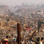 الأمم المتحدة: مقتل 15 وفقد 400 في حريق بمخيم للروهينجا في بنجلادش