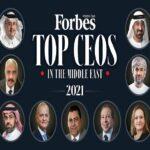 أفضل 10 رؤساء تنفيذيين في الشرق الأوسط خلال 2021