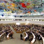 مجلس حقوق الإنسان يعتمد قرار فلسطين ضمان المساءلة وإحقاق العدالة