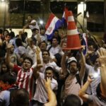 تظاهرات عنيفة في باراجواي احتجاجا على إدارة السلطة لأزمة كورونا