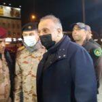 الكاظمي يتفقد موقع هجوم بغداد.. والأوضاع تحت السيطرة