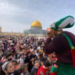 أكثر من 50 ألفا يحيون ذكرى الإسراء والمعراج في باحات الأقصى