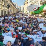 مسيرات معارضة للانتخابات التشريعية المبكرة في الجزائر