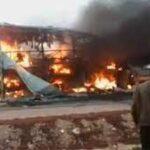 احتراق العشرات أحياء في حادث تحطم حافلة في الكونجو الديمقراطية