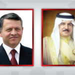 الملك حمد بن عيسى يؤكد وقوف البحرين مع الأردن