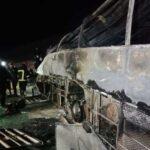 مصر.. مصرع 14 شخصا في حادث تصادم على طريق «أسيوط - البحر الأحمر»