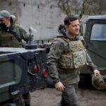 رئيس أوكرانيا: انسحاب القوات الروسية يحد من التوتر