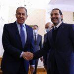 لافروف يعلن دعم جهود الحريري في تشكيل الحكومة اللبنانية