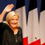 السياسية اليمينية مارين لوبان تعلن ترشحها للرئاسة الفرنسية