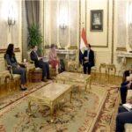 رئيس الوزراء المصري يلتقى رئيسة البنك الأوروبي لإعادة الإعمار والتنمية