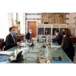 الاتفاق على إعادة فتح القنصلية الإيطالية في ليبيا