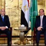 الرئيسان المصري والجزائري يتبادلان التهنئة بمناسبة شهر رمضان