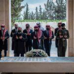 العاهل الأردني والأمير حمزة يظهران معا في ذكرى مئوية التأسيس