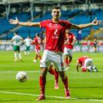 محمد شريف يقود الأهلي للفوز على المصري في الدوري