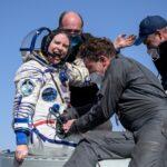 عودة 3 رواد من محطة الفضاء الدولية
