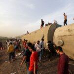النائب العام: حادث قطار دلتا مصر أودى بحياة 23 شخصا