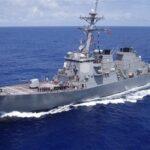 الهند تعترض على قيام سفينة حربية أمريكية بدورية في مياهها