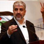 حماس: انتخاب خالد مشعل رئيسًا للمكتب السياسي في الخارج