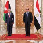 الرئيس المصري يهنئ العاهل الأردني بـ100 عام على تأسيس المملكة الهاشمية