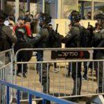 الهلال الأحمر الفلسطيني: 7 إصابات في مواجهات مع الاحتلال عند باب العامود