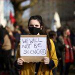 مظاهرات في بريطانيا ضد مشروع قانون لتقييد الاحتجاجات