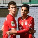 موسيالا يحقق رقما قياسيا ويقترب ببايرن من لقب الدوري الألماني