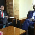 السودان يدعو الاتحاد الأوروبي لدفع مفاوضات السد الإثيوبي