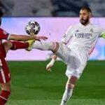 ريال مدريد يتعادل مع ليفربول ويتأهل لنصف نهائي دوري أبطال اوروبا
