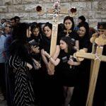 المسيحيون في الأراضي المقدسة يحتفلون بالجمعة العظيمة