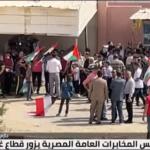 مراسلنا: إعادة الإعمار وتثبيت الهدنة على رأس مباحثات رئيس المخابرات المصرية في غزة