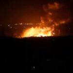 الدفاعات الجوية السورية تعترض هجوما إسرائيليا قرب اللاذقية