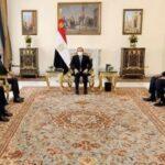 الرئيس المصري للمبعوث الأمريكي: نسعى إلى اتفاق ملزم قانونا لملء وتشغيل سد النهضة
