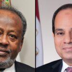 الرئيس المصري ونظيره الجيبوتي يبحثان مستجدات ملف السد الإثيوبي