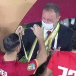 وزير الرياضة المصري يهنئ الأهلي على كأس السوبر الأفريقي