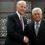 عباس يطالب بادين بالتدخل لوضع حد للجرائم الإسرائيلية