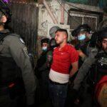مستوطنون يعتدون على الصائمين في حى الشيخ جراح