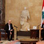 عون: هناك أولوية قصوى لتشكيل حكومة لبنانية جديدة تحظى بثقة البرلمان