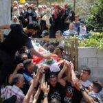 تشييع جنازة طفل شهيد وسط غضب فلسطيني في نابلس
