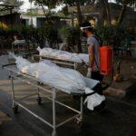 العثور على عشرات الجثث لضحايا كورونا في نهر بالهند