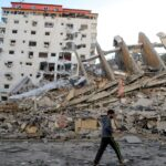 استشهاد أب وبناته الثلاث إثر استهداف منزلهم في بيت لاهيا شمال غزة