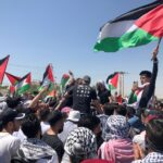 آلاف الأردنيين يتظاهرون تضامنًا مع الشعب الفلسطيني