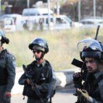 الاحتلال يطلق قنابل الغاز على الفسلطينيين في نابلس