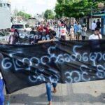ميانمار.. انفجارات وتظاهرات في بداية الشهر الرابع من حكم العسكريين